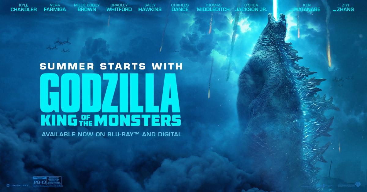 Movie Poster 2019: Godzilla: King Of The Monsters- In Theaters May 31, 2019